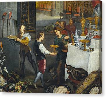 Breugel, Jan, The Elder, Called Velvet Canvas Print by Everett