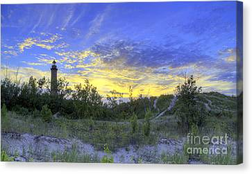 Little Sable Lighthouse Canvas Print by Twenty Two North Photography
