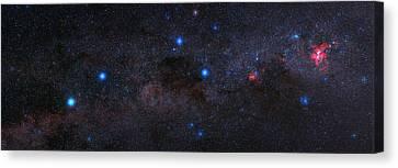 Milky Way Over The Atacama Desert Canvas Print by Babak Tafreshi
