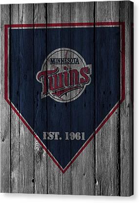 Minnesota Twins Canvas Print by Joe Hamilton