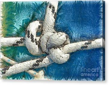 Nautical Knots Canvas Print by George Atsametakis