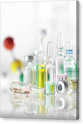 Pharmaceutical Research Canvas Print by Tek Image