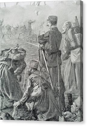 World War I (1914-1918 Canvas Print by Prisma Archivo
