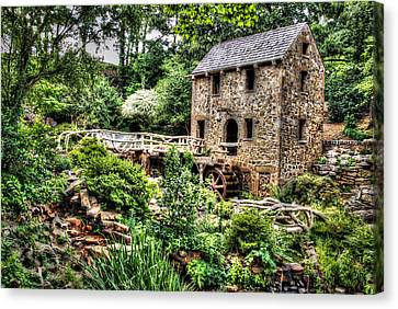 1007-2693 Pugh's Old Mill  Canvas Print by Randy Forrester