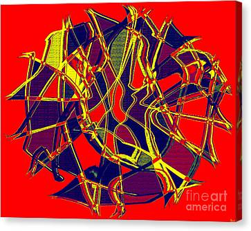 1010 Abstract Thought Canvas Print by Chowdary V Arikatla