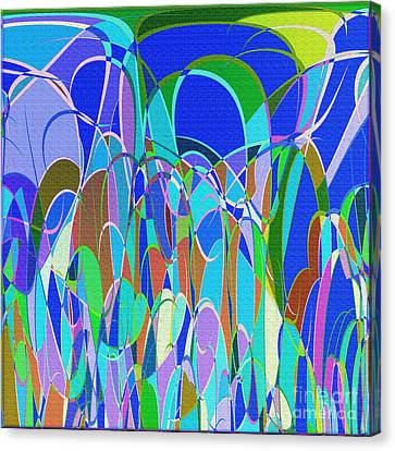 1014 Abstract Thought Canvas Print by Chowdary V Arikatla