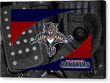 Florida Panthers Canvas Print by Joe Hamilton
