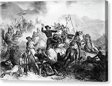 Little Bighorn, 1876 Canvas Print by Granger