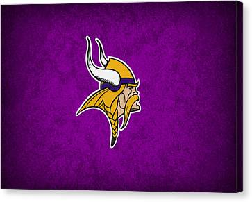 Minnesota Vikings Canvas Print by Joe Hamilton