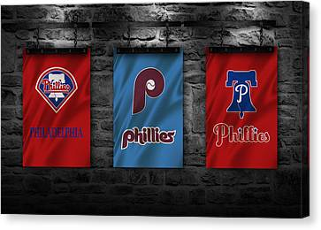 Philadelphia Phillies Canvas Print by Joe Hamilton