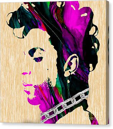 Prince Collection Canvas Print by Marvin Blaine