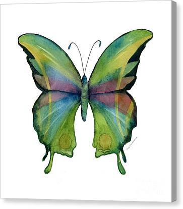 11 Prism Butterfly Canvas Print by Amy Kirkpatrick