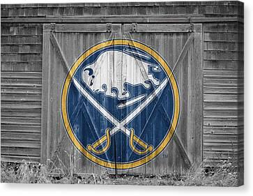 Buffalo Sabres Canvas Print by Joe Hamilton