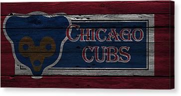 Chicago Cubs Canvas Print by Joe Hamilton