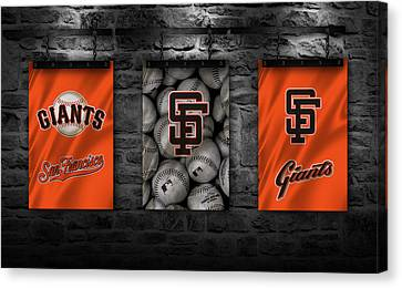 San Francisco Giants Canvas Print by Joe Hamilton