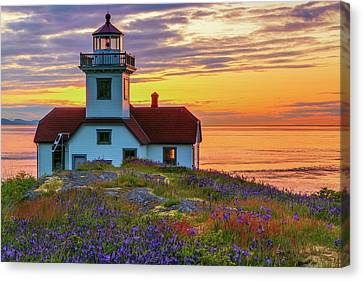 Usa, Washington State, San Juan Islands Canvas Print by Jaynes Gallery