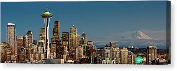 12th Man City Canvas Print by Dan Mihai