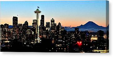 12th Man Sunrise Canvas Print by Benjamin Yeager