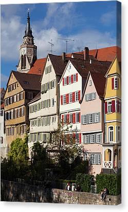 Germany, Baden-wurttemburg, Tubingen Canvas Print by Walter Bibikow