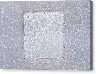 Metallic Background Canvas Print by Tom Gowanlock