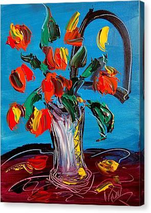 Flowers Canvas Print by Mark Kazav