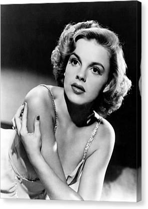 Judy Garland Canvas Print by Silver Screen