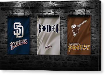San Diego Padres Canvas Print by Joe Hamilton