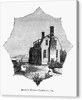 Yorktown: Surrender, 1781 Canvas Print by Granger