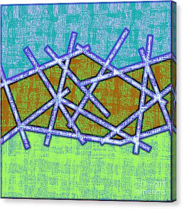 1455 Abstract Thought Canvas Print by Chowdary V Arikatla