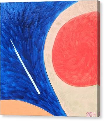 147 'teardropper' Canvas Print by Gregory Otvos