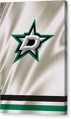 Dallas Stars Canvas Print by Joe Hamilton
