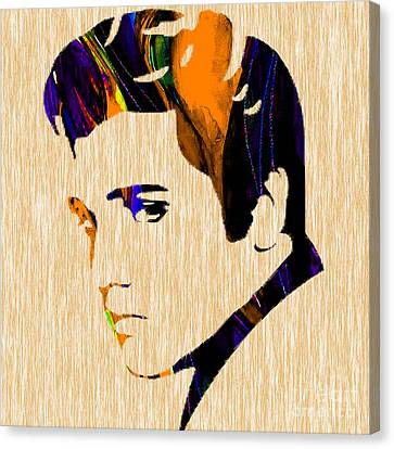 Elvis Canvas Print by Marvin Blaine