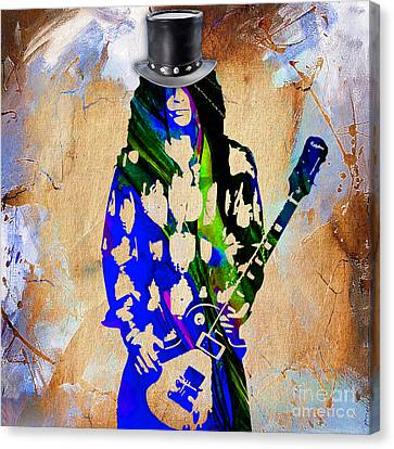 Slash Collection Canvas Print by Marvin Blaine