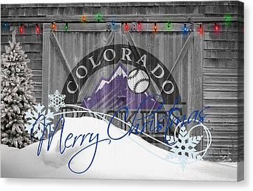 Colorado Rockies Canvas Print by Joe Hamilton