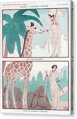 La Vie Parisienne  1931 1930s France Cc Canvas Print by The Advertising Archives