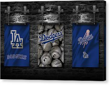 Los Angeles Dodgers Canvas Print by Joe Hamilton
