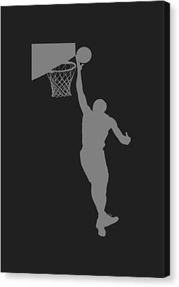 Nba Shadow Player Canvas Print by Joe Hamilton