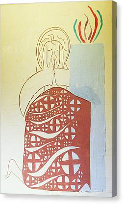 The Wise Virgin Canvas Print by Gloria Ssali