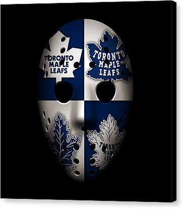 Toronto Maple Leafs Canvas Print by Joe Hamilton