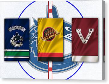 Vancouver Canucks Canvas Print by Joe Hamilton