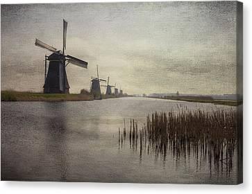 Kinderdijk Canvas Print by Joana Kruse