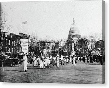 Suffrage Parade, 1913 Canvas Print by Granger