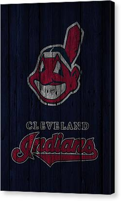 Cleveland Indians Canvas Print by Joe Hamilton