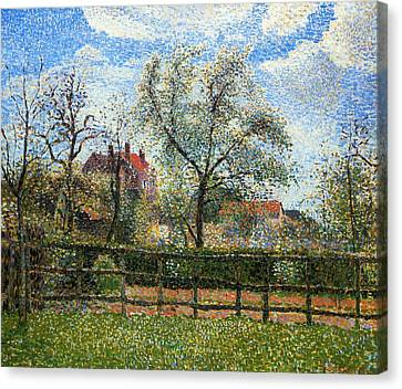 View Of Gospor Canvas Print by Charles W Fothergill