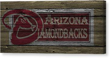 Arizona Diamondbacks Canvas Print by Joe Hamilton