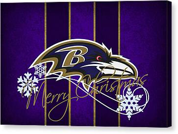 Baltimore Ravens Canvas Print by Joe Hamilton