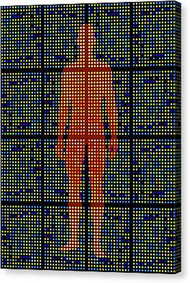 Genetic Research Canvas Print by Pasieka