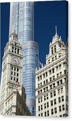 Illinois, Chicago Canvas Print by Cindy Miller Hopkins