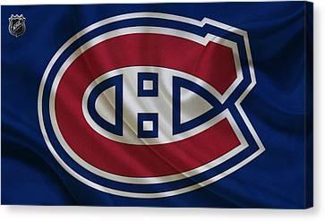 Montreal Canadiens Canvas Print by Joe Hamilton