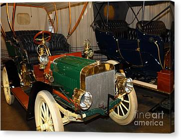 1904 Ford Model B Touring 5d25555 Canvas Print by Wingsdomain Art and Photography